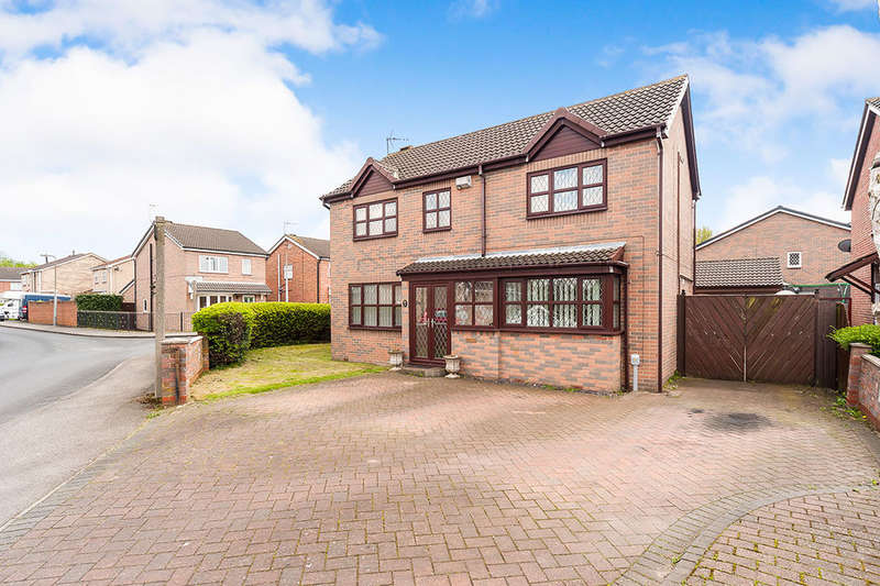 4 Bedrooms Detached House for sale in Temsdale, HULL, HU7