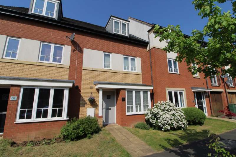 4 Bedrooms Town House for sale in Sakura Walk, Willen Park, Milton Keynes, Buckinghamshire