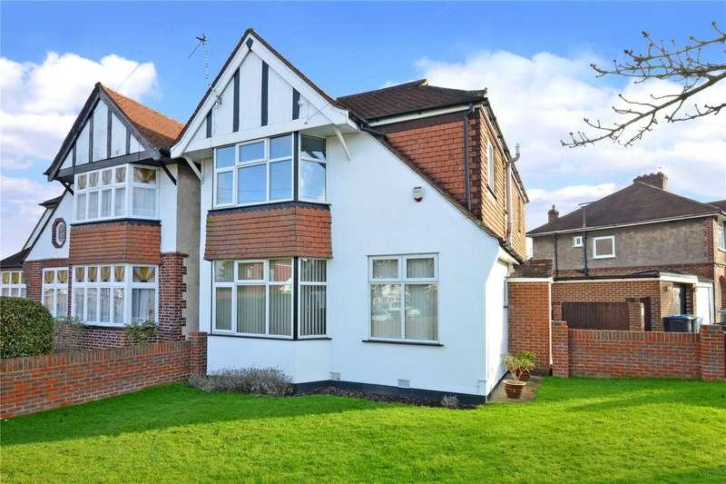4 Bedrooms Detached House for sale in Brockenhurst Avenue, Worcester Park, KT4