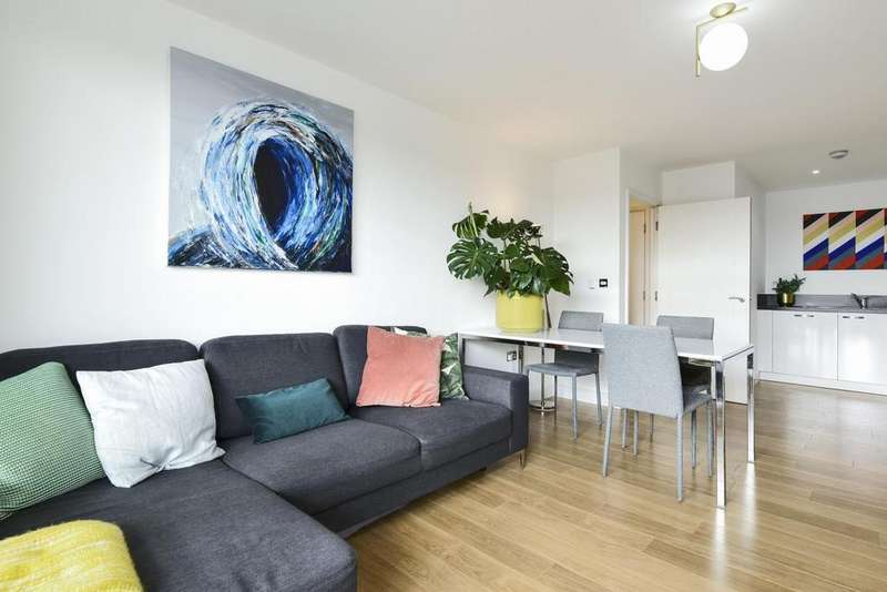 1 Bedroom Flat for sale in Carney Place, Brixton