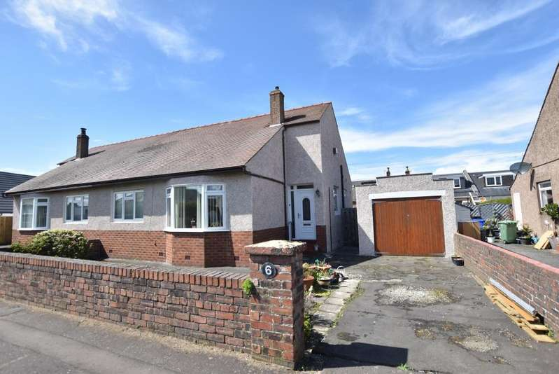 2 Bedrooms Semi Detached Bungalow for sale in 6 Northfield Place, Ayr, KA8 9AP