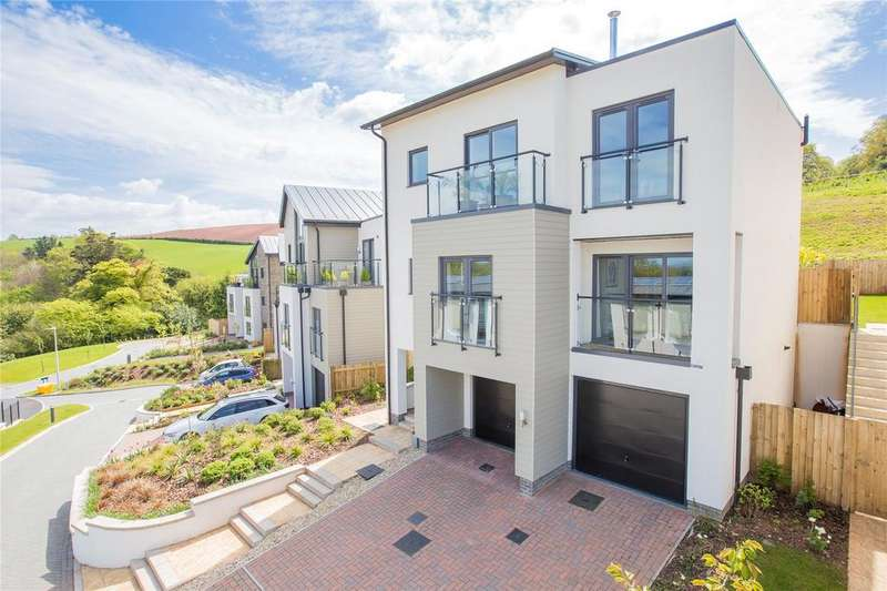 4 Bedrooms Detached House for sale in Follaton Rise, Totnes, TQ9