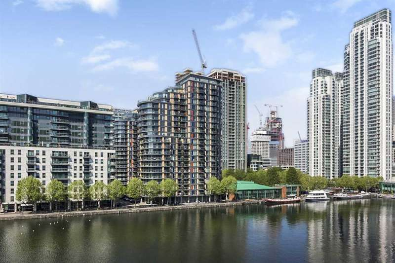 2 Bedrooms Apartment Flat for sale in Baltimore Wharfe, London