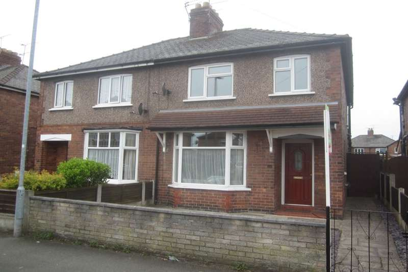 3 Bedrooms Semi Detached House for sale in Ernest Street, Crewe, CW2
