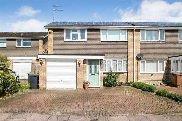 3 Bedrooms Semi Detached House for sale in Benson Close, Luton, Bedfordshire