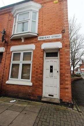 2 Bedrooms Terraced House for sale in Minehead Street, Leicester