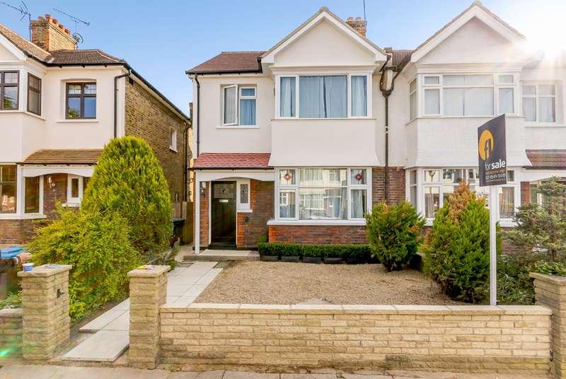 4 Bedrooms Semi Detached House for sale in Neville Road, Kingston upon Thames KT1