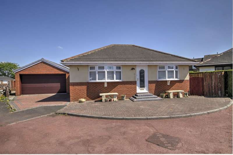 2 Bedrooms Detached Bungalow for sale in Wesley Court, Annfield Plain, Stanley, DH9
