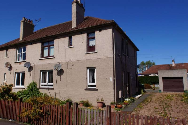 2 Bedrooms Flat for sale in Letham Avenue, Leven, KY8