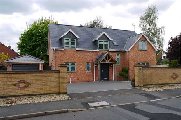 4 Bedrooms Detached House for sale in Wentworth Close, Kibworth Beauchamp, Leicester