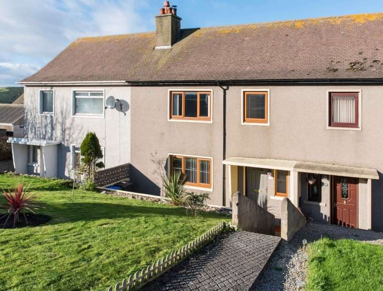3 Bedrooms Terraced House for sale in Garden Crescent, Gardenstown, Banff, Aberdeenshire, AB45 3ZJ