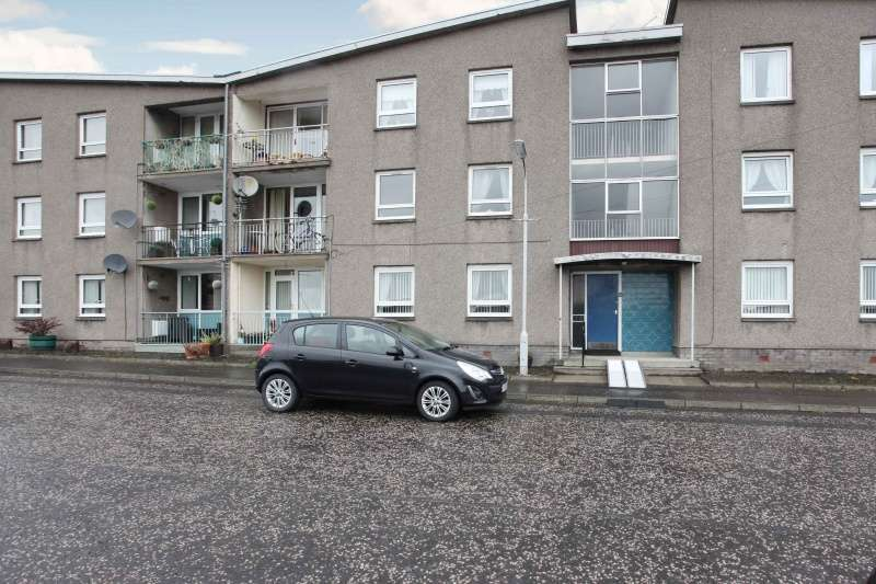 2 Bedrooms Flat for sale in Mossgreen Street, Kelty, Fife, KY4 0AD
