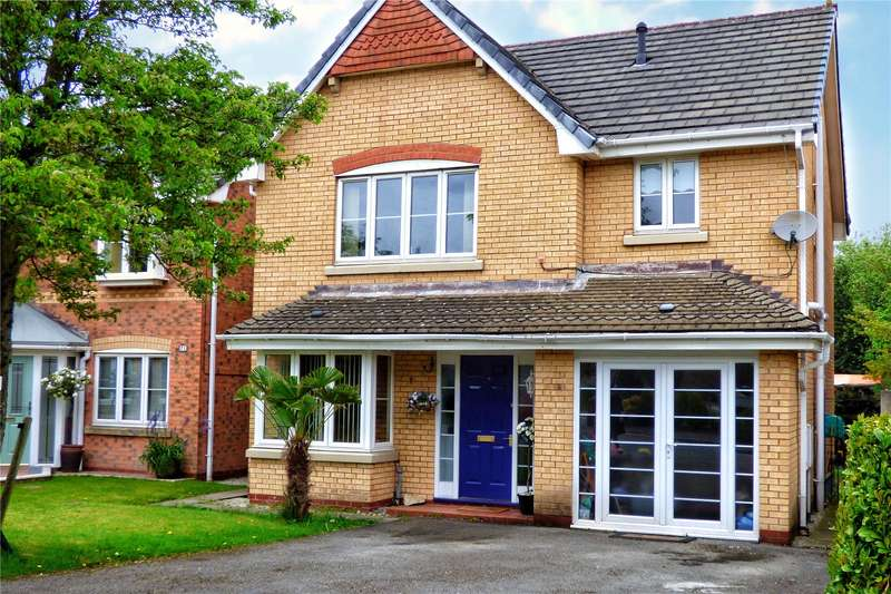 4 Bedrooms Detached House for sale in Wrenbury Drive, Rochdale, Greater Manchester, OL16