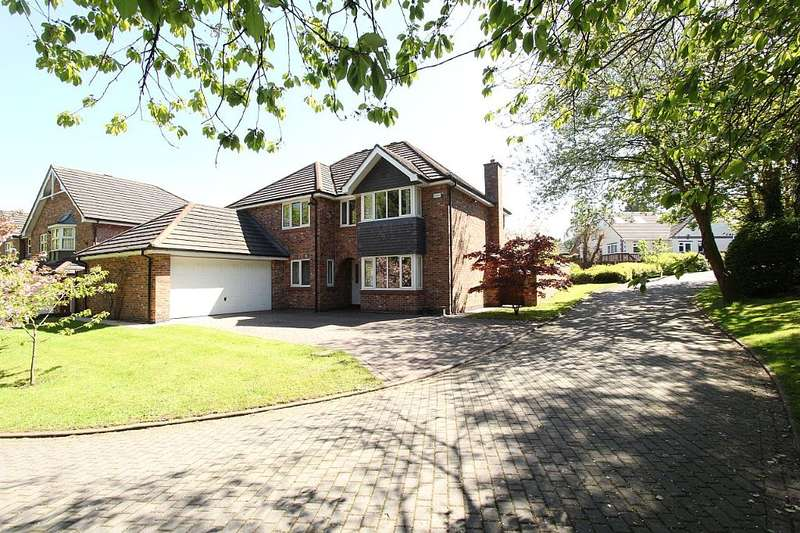 5 Bedrooms Detached House for sale in The Brooklands, Buck Lane, Hough, Crewe, Cheshire, CW2