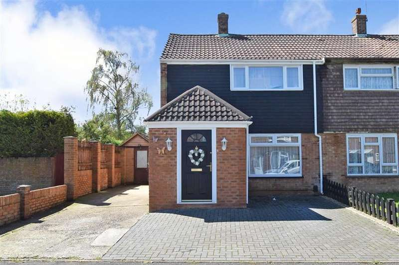 2 Bedrooms Semi Detached House for sale in Flaxpond, Ashford, Kent