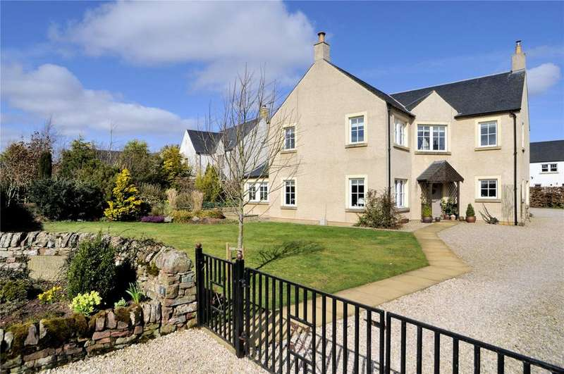 5 Bedrooms Detached House for sale in Little Assynt, Houndslow Road, Westruther, Gordon, Scottish Borders