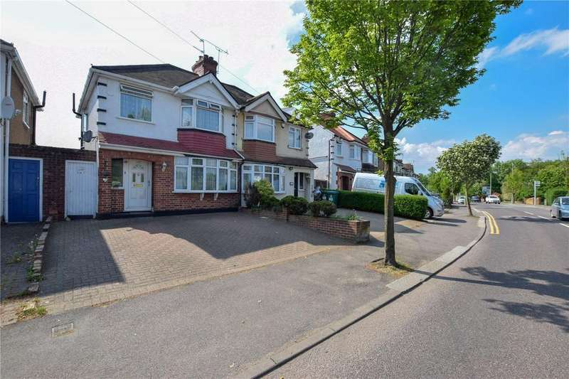3 Bedrooms Semi Detached House for sale in Sheepcot Lane, Garston, Hertfordshire, WD25