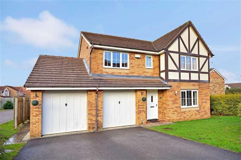 4 Bedrooms Detached House for sale in The Bramblings, Castleford, West Yorkshire