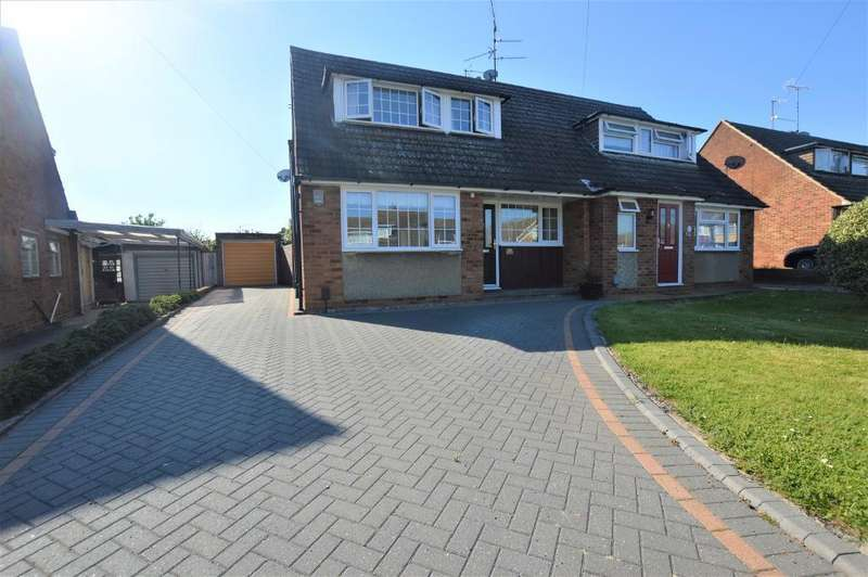 2 Bedrooms Semi Detached House for sale in Park View Close, Luton, LU3 3DB