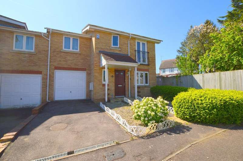 4 Bedrooms End Of Terrace House for sale in Primrose Close, Luton, LU3 1EY
