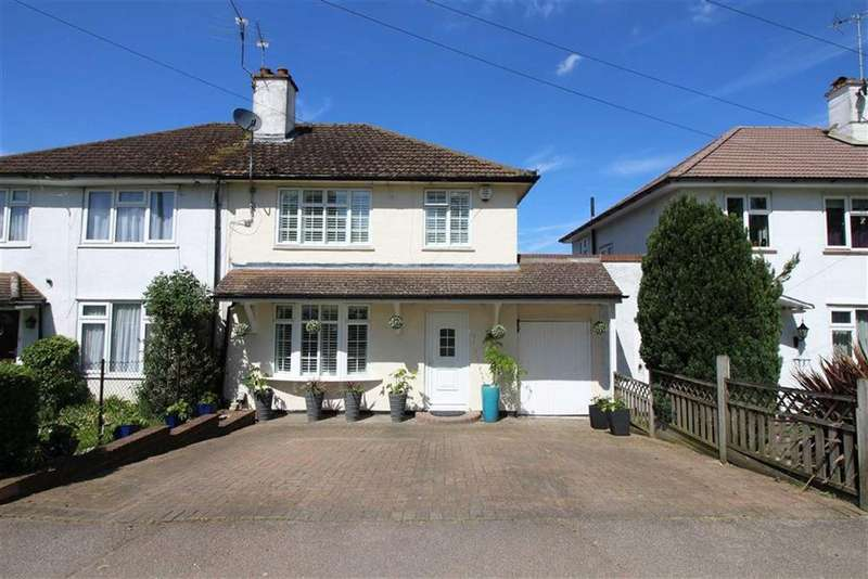 3 Bedrooms Semi Detached House for sale in Arundel Drive, Borehamwood, Herts