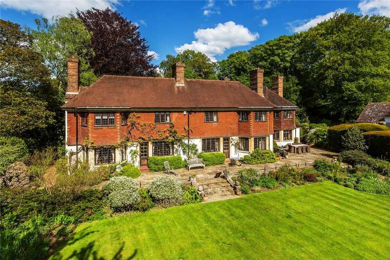 7 Bedrooms Detached House for sale in Kent Hatch Road, Limpsfield Chart, Oxted, Surrey, RH8