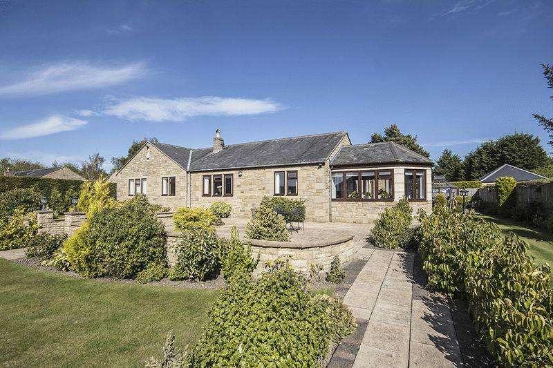 4 Bedrooms Detached Bungalow for sale in Apuldram, Fairmoor, Morpeth
