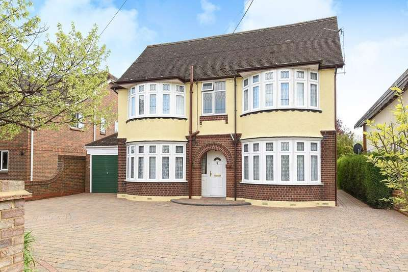 4 Bedrooms Detached House for sale in Westoning Road, Harlington, LU5