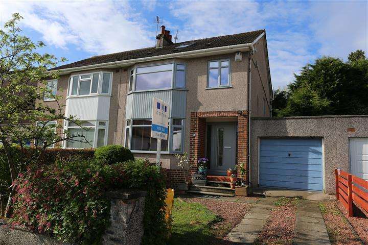 4 Bedrooms Semi Detached House for sale in 38 Westbourne Drive, Bearsden, G61 4BH