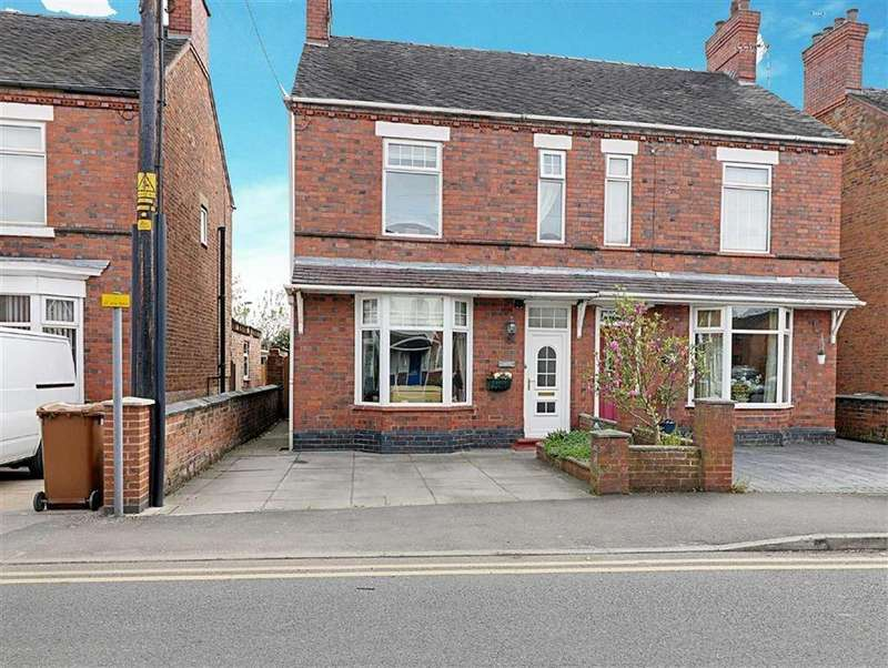 3 Bedrooms Semi Detached House for sale in Wistaston Road, Willaston, Nantwich