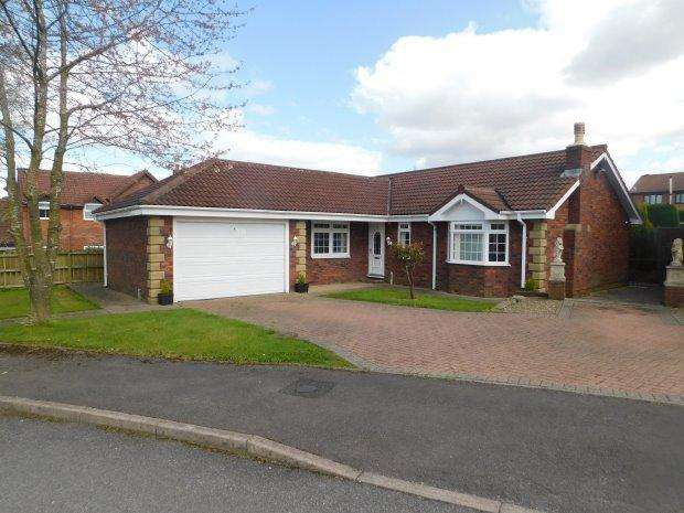 3 Bedrooms Detached Bungalow for sale in ACORN DRIVE, OAKENSHAW, BISHOP AUCKLAND