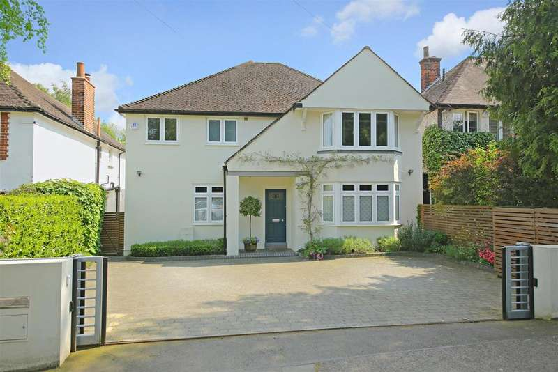5 Bedrooms Detached House for sale in Gills Hill, Radlett