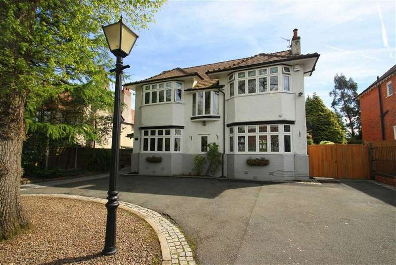 5 Bedrooms Detached House for sale in Bramhall Lane South, Bramhall