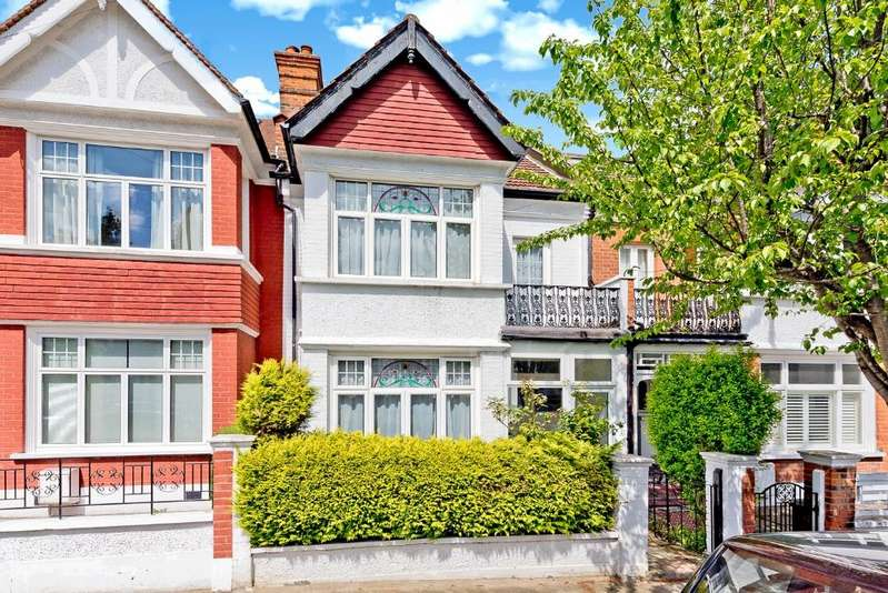 3 Bedrooms Terraced House for sale in The Crescent, Wimbledon Park
