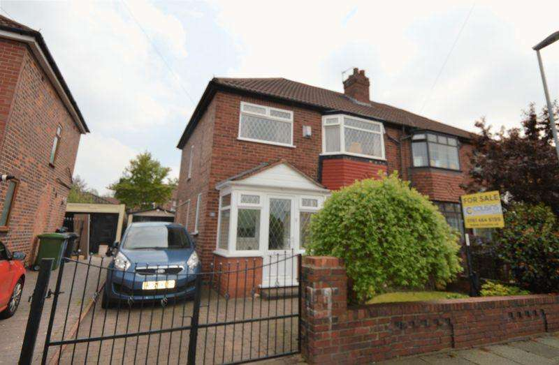 3 Bedrooms Semi Detached House for sale in Newton Road, Manchester