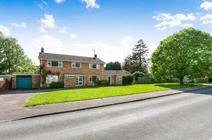 5 Bedrooms Detached House for sale in Great Barton, Bury St Edmunds, Suffolk