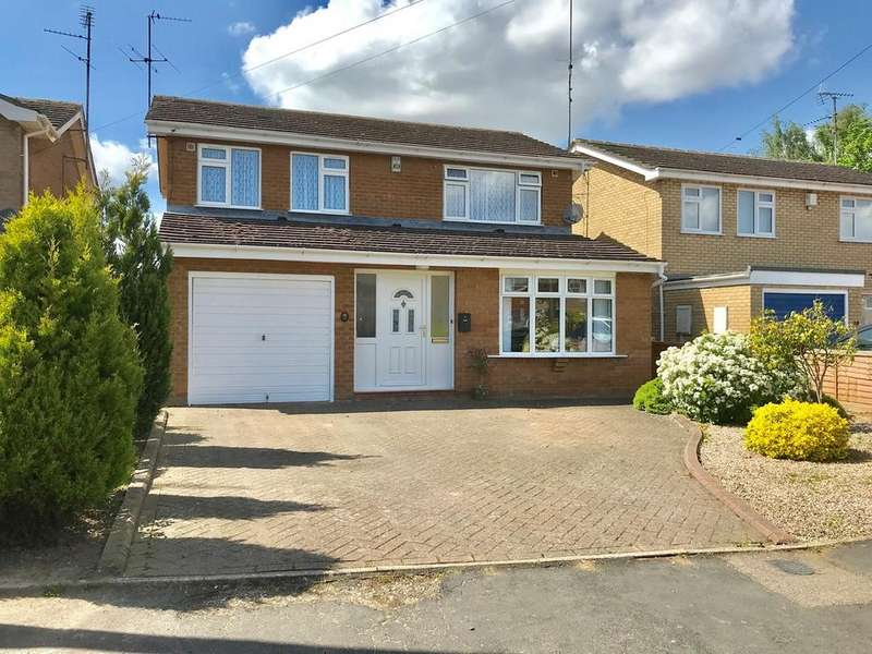 4 Bedrooms Detached House for sale in Helmsley Way, Spalding, PE12