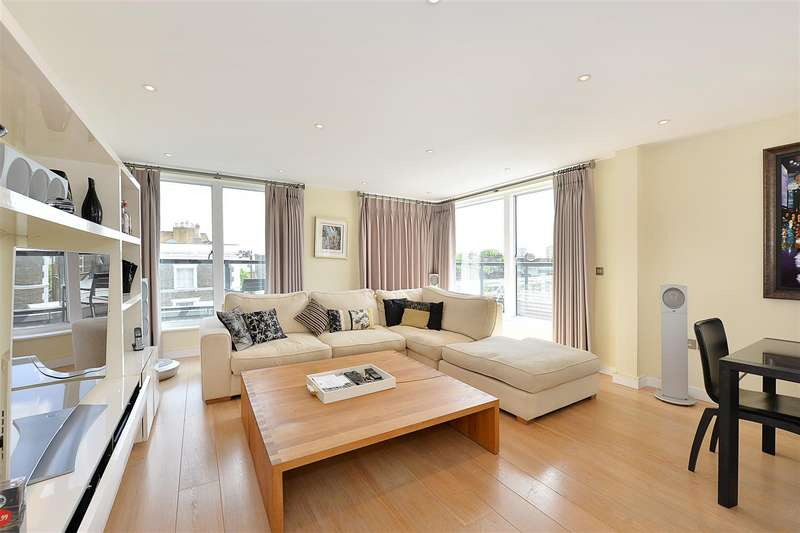 3 Bedrooms Penthouse Flat for sale in Abbey Road, St Johns Wood, NW8