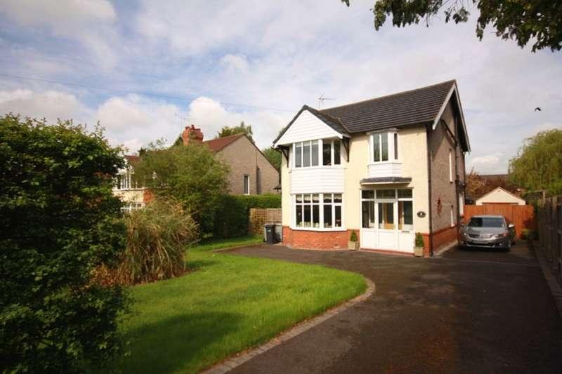 4 Bedrooms Detached House for sale in Crewe Road, Wistaston, Crewe, CW2