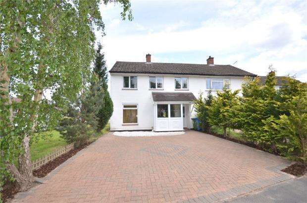 3 Bedrooms Semi Detached House for sale in Manston Drive, Bracknell, Berkshire