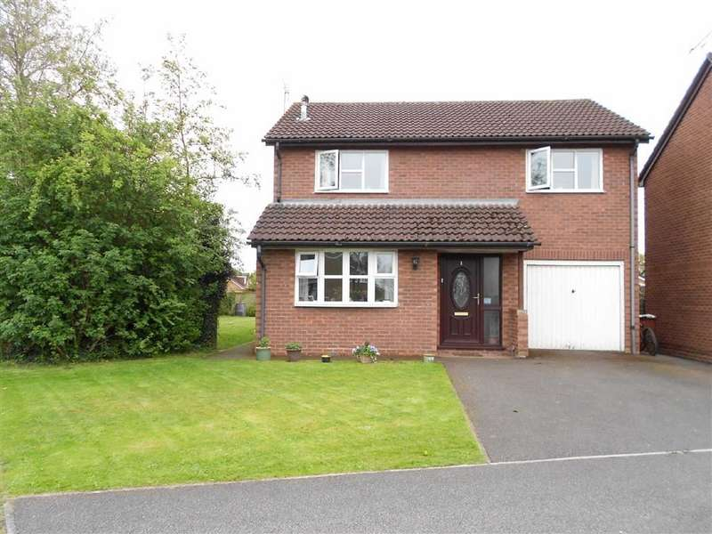 4 Bedrooms Detached House for sale in Bradeley Hall Road, Haslington, Crewe, Cheshire