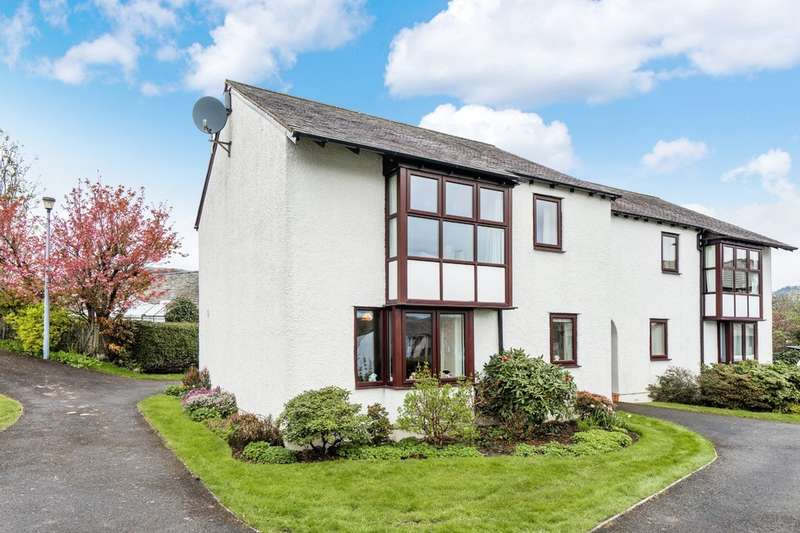 2 Bedrooms Flat for sale in Flat 25 Fairfield Close, Staveley, Kendal, Cumbria, LA8 9RA