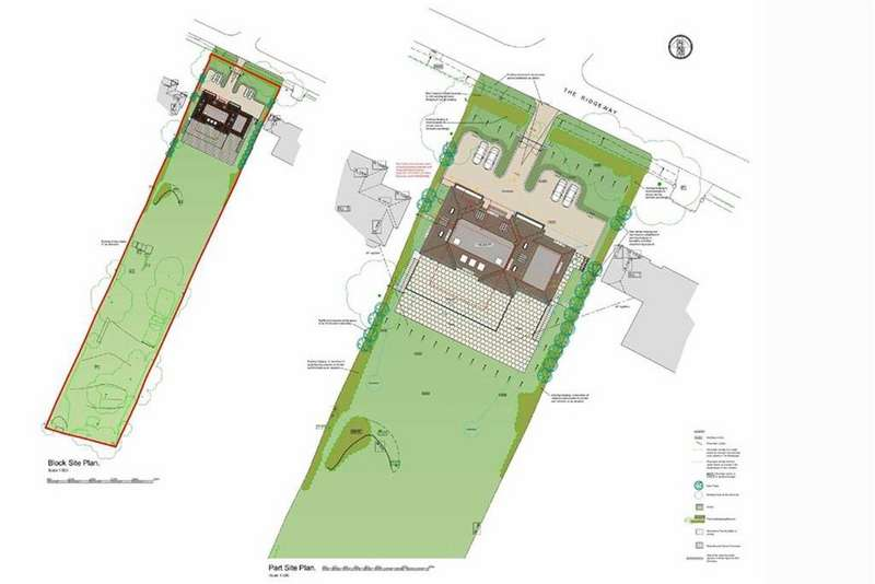 6 Bedrooms Land Commercial for sale in The Ridgeway, Cuffley, Hertfordshire