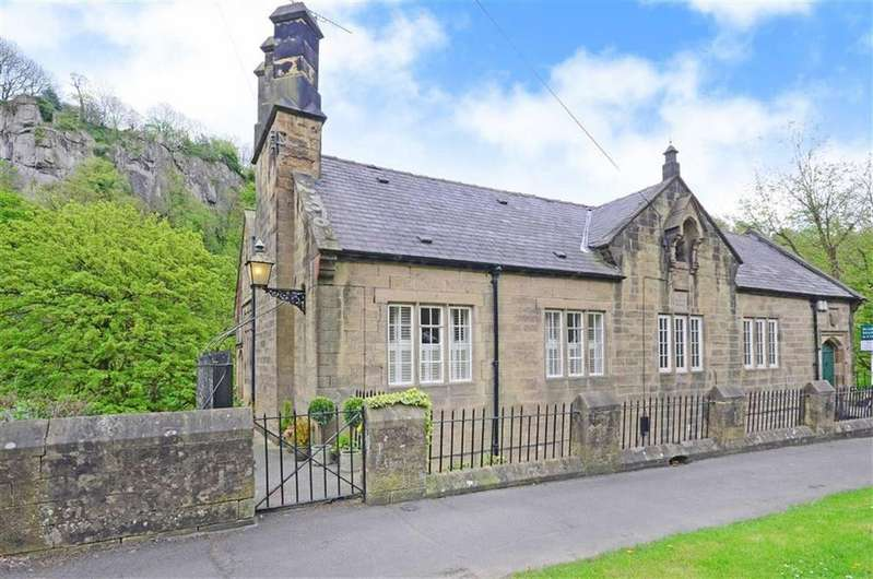 4 Bedrooms Semi Detached House for sale in The Old School House, Derby Road, Matlock Bath, Matlock, Derbyshire, DE4