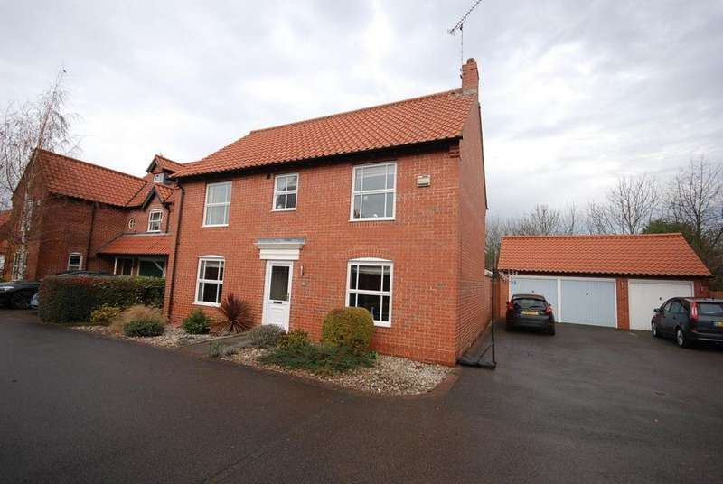 4 Bedrooms House for rent in Archers Field, Nottingham