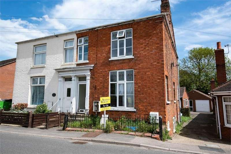 3 Bedrooms End Of Terrace House for sale in South Street, Swineshead, Boston, Lincolnshire