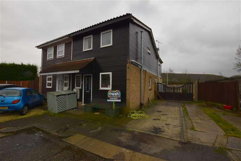 3 Bedrooms Semi Detached House for sale in Stirling Place, Basildon, Essex