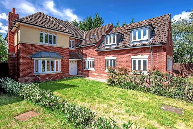 5 Bedrooms Detached House for sale in Paddock Gardens, Walsall