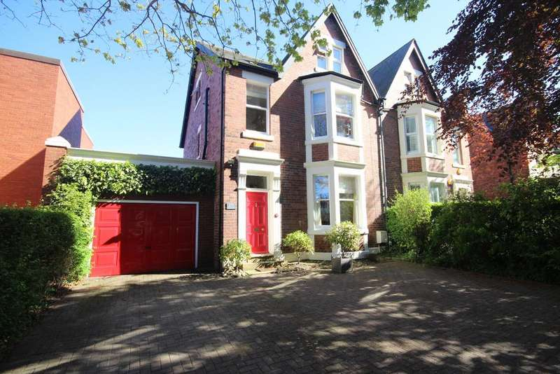 5 Bedrooms Semi Detached House for sale in Marine Avenue, Whitley Bay, NE26