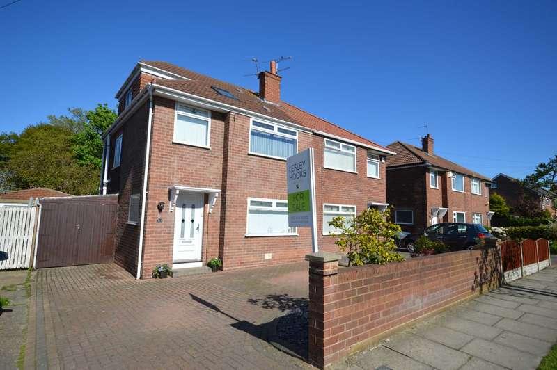 4 Bedrooms Semi Detached House for sale in Holmville Road, Bebington